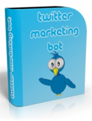 Product picture Twitter Marketing Bot With PLR