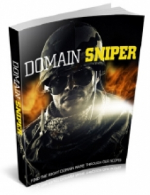 Product picture Domain Sniper With PLR