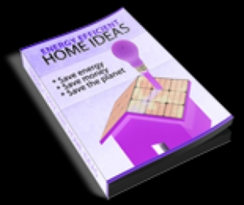 Product picture Energy Efficient Home Ideas With PLR