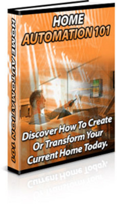 Product picture Home Automation 101 With PLR