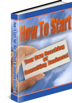 Product picture How To Start - Coaching Or Consulting Business With PLR